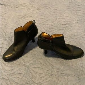 Sofft leather black boot